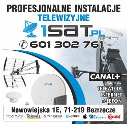 1sat - Ustawienie Montaż Anteny Szczecin Bezrzecze canalplus canal+ Serwis anten