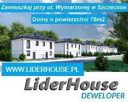 LiderHouse: Szczecin, Krzekowo, domy  i mieszkania, powierzchnia od 61m2 do 126m2