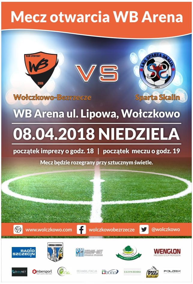 Mecz otwarcia WB Arena w Wołczkowie